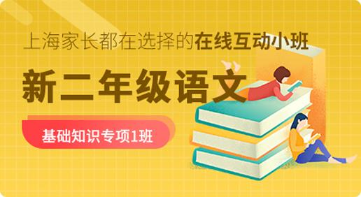 【20暑】新二年级语文基础知识专项1班(第二期)